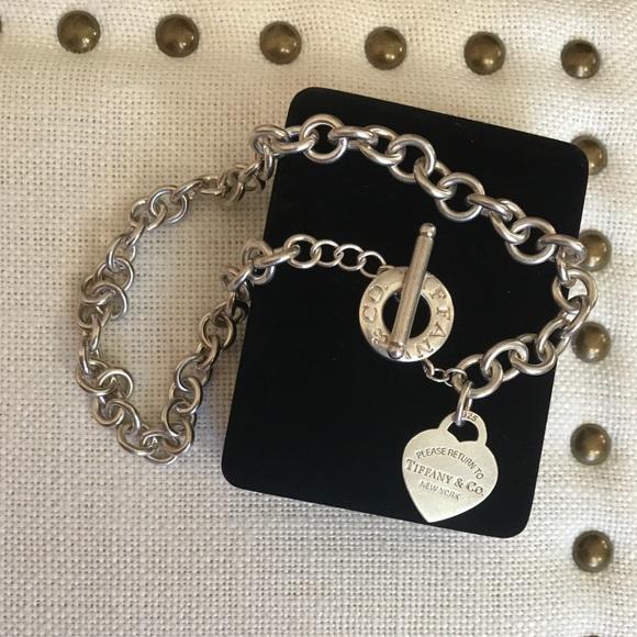 d51e8c2bb Tiffany & Co. Jewelry | Tiffany Co Heart Tag Toggle Necklace | Poshmark